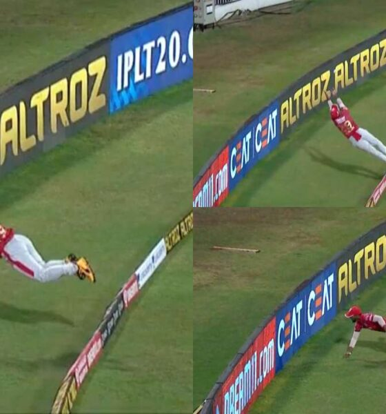 Pooran's catch ipl